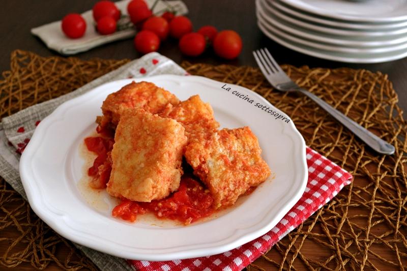 Baccalà fritto al pomodoro - ricetta pugliese