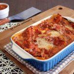 Lasagna al ragù di carne e besciamella