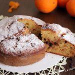 Torta arancia e mascarpone con gocce di cioccolato