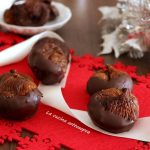 Fichi secchi mandorlati al cioccolato - ricetta natalizia