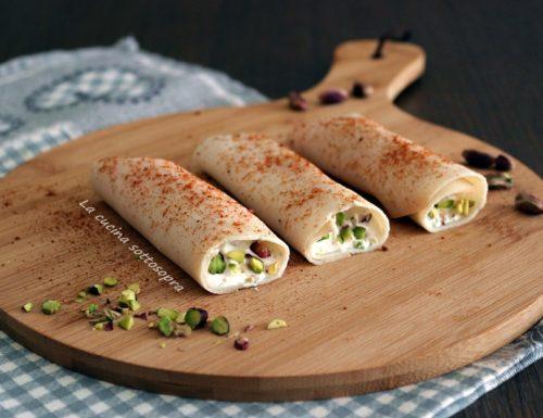 Involtini di tacchino ai pistacchi – senza cottura