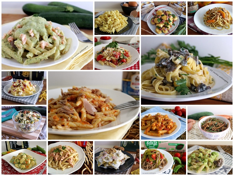 Raccolta di primi piatti facili e veloci la cucina for Primi piatti di pesce veloci
