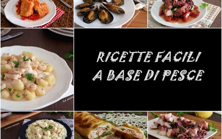 Ricette facili a base di pesce – raccolta di ricette