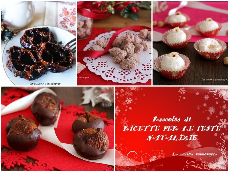 Raccolta di ricette natalizie dall'antipasto al dolce