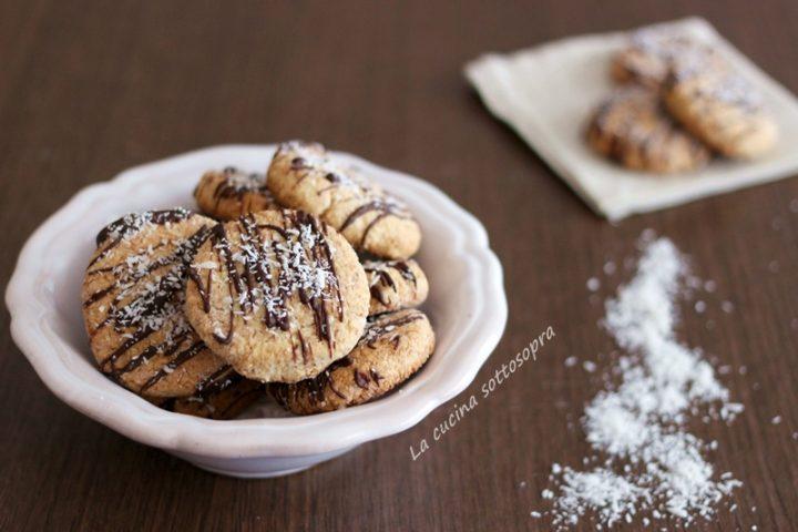 biscotti integrali cocco e limone senza burro