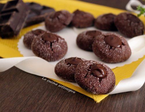 Fossette golose – frollini burro e cioccolato