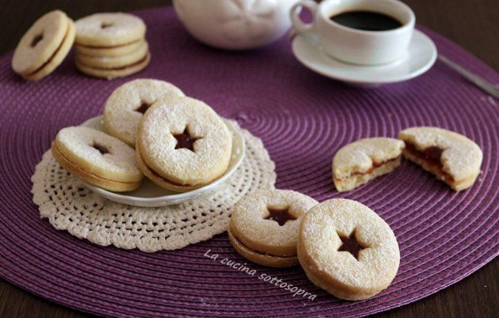 Biscotti al burro occhio di bue