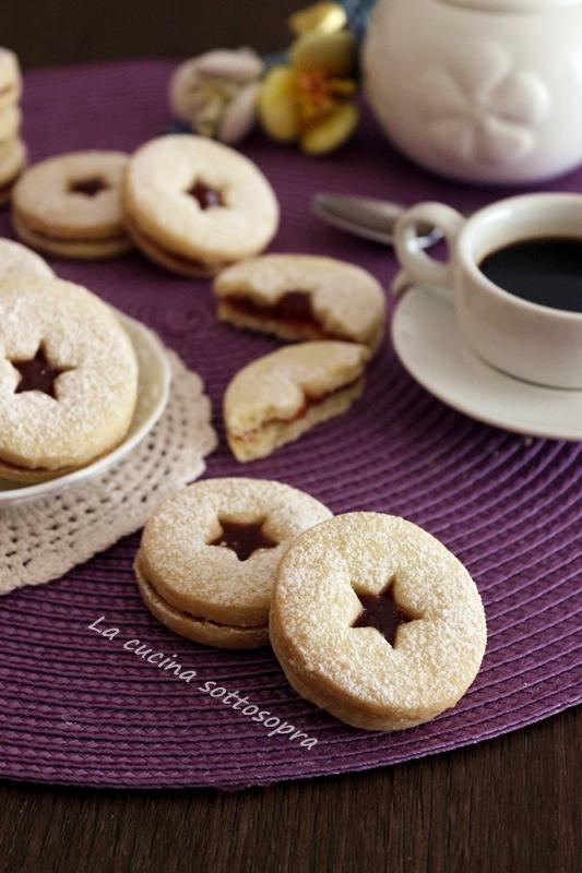 biscotti al burro occhi di bue