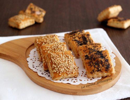 Biscotti salati al parmigiano e rosmarino