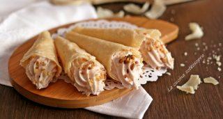 cialde di parmigiano con mousse di prosciutto fb