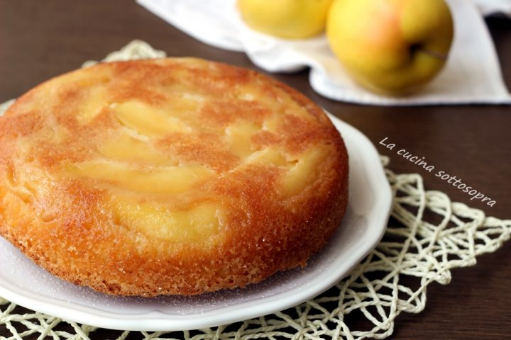torta rovesciata di mele allo yogurt ricetta