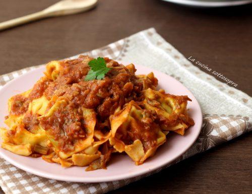 Pasta al sugo di carciofi – ricetta vegetariana