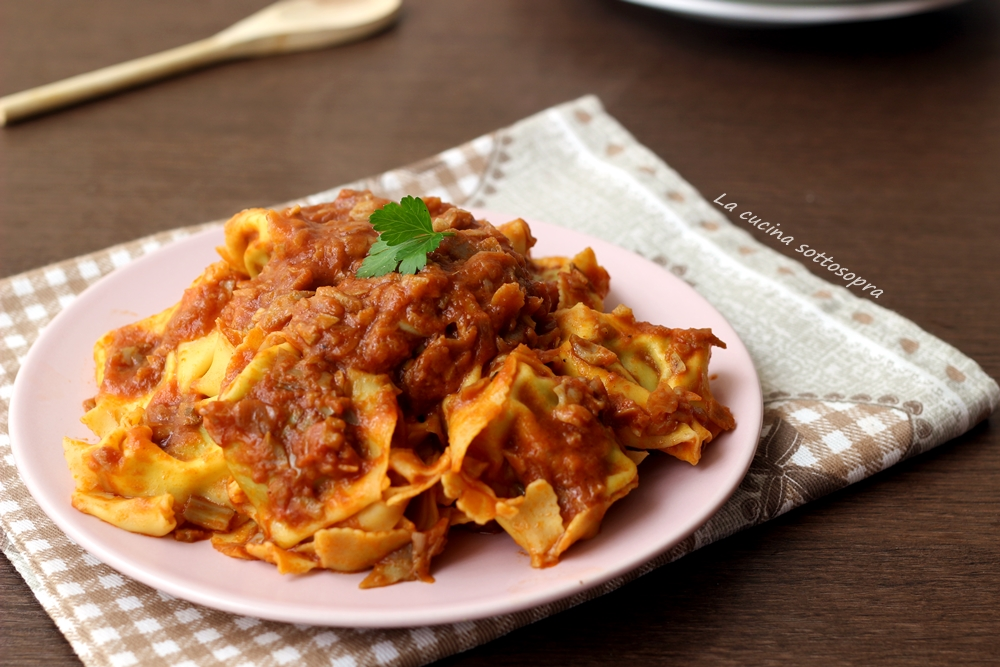 Pasta al sugo di carciofi - ricetta vegetariana