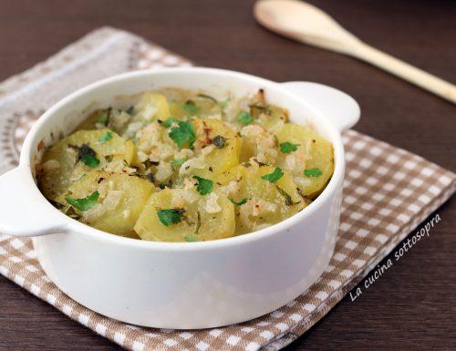 Patate arraganate – secondo o contorno vegetariano light