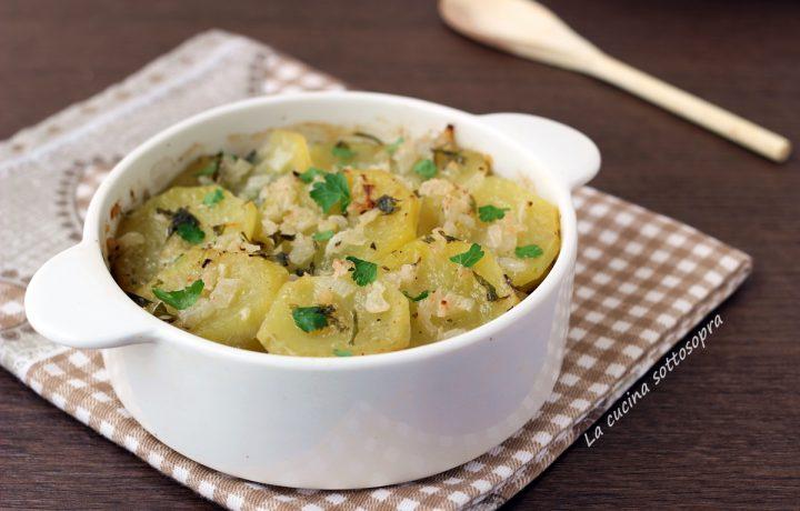 Patate arraganate – contorno vegetariano light