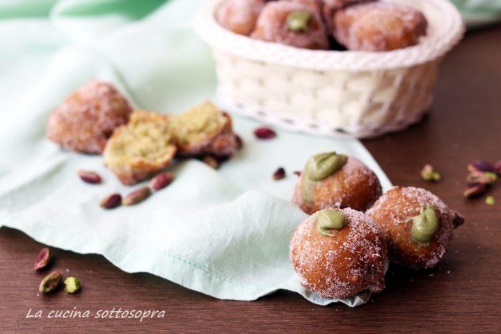 castagnole dolci ai pistacchi ricetta