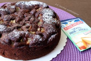 torta cacao e pere al mascarpone paneangeli