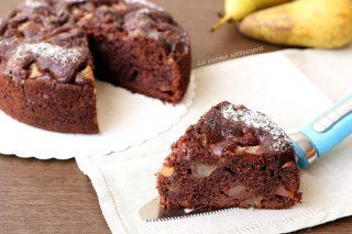 torta cacao e pere al mascarpone ricetta