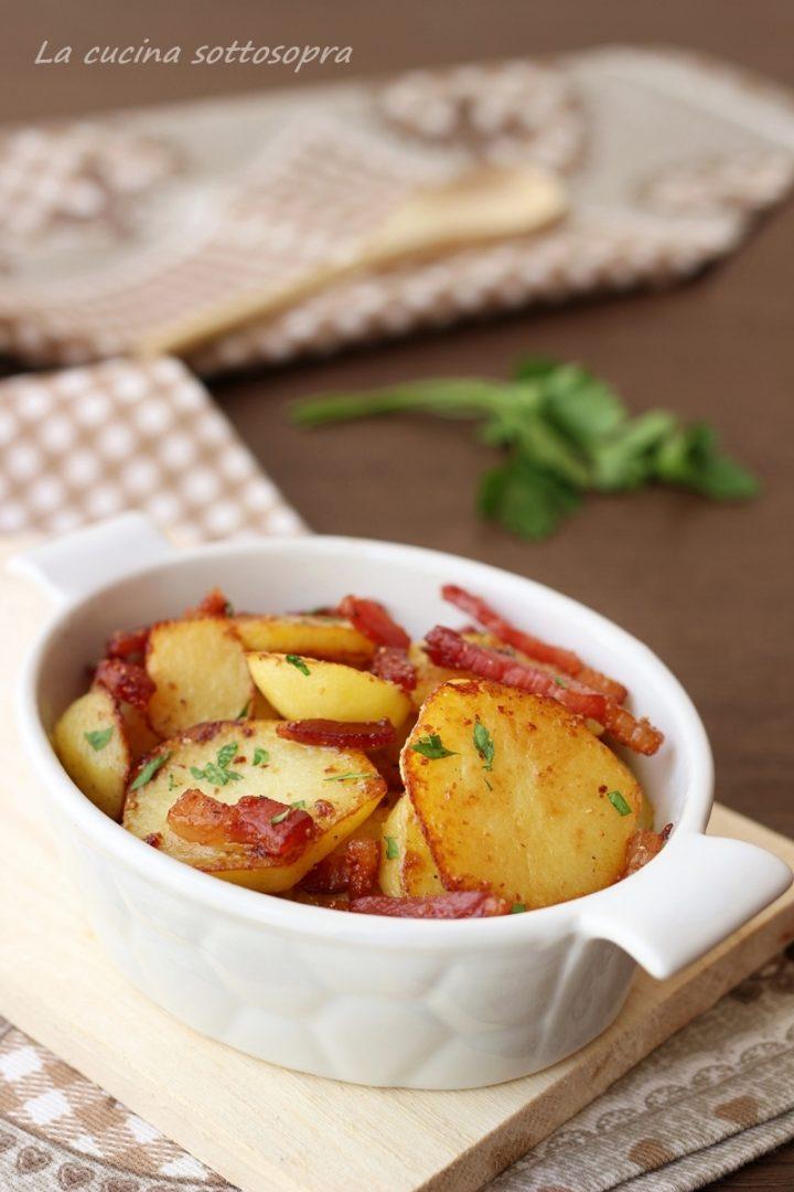 patate allo speck in padella