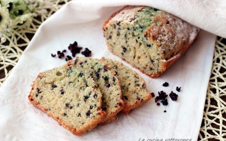Plumcake ai mirtilli – ricetta facile