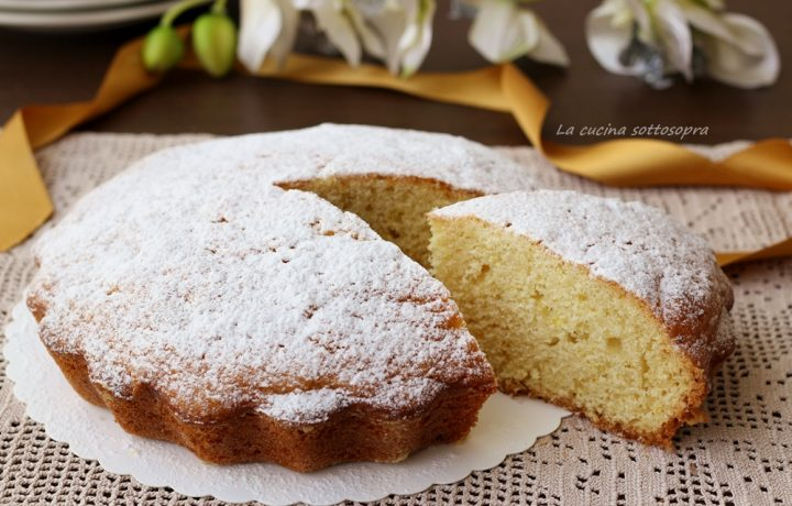 Torta panna e limone morbidissima