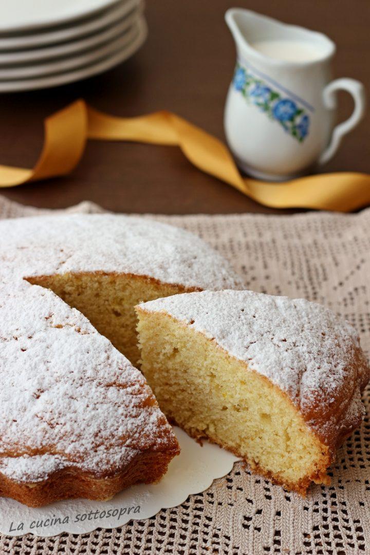 torta panna e limone