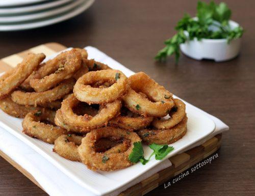 Anelli di totano finti fritti – croccanti fuori e morbidi dentro come quelli fritti