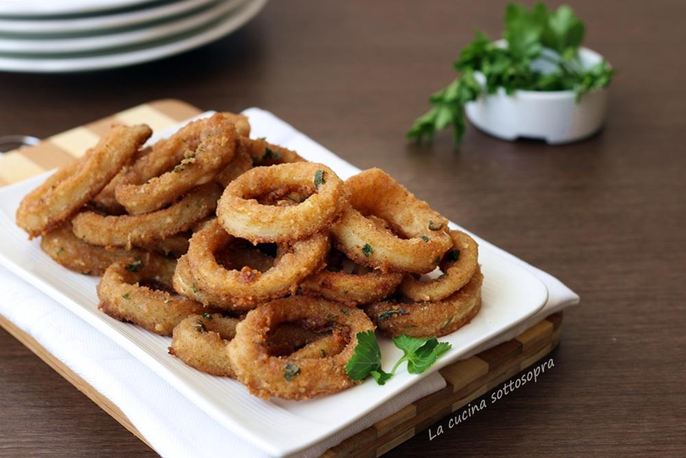 Anelli di totano finti fritti