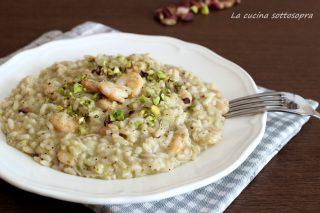 risotto gamberetti e pistacchi di bronte ricetta