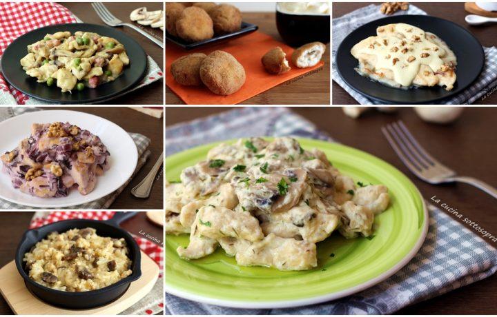 Raccolta di ricette con il pollo