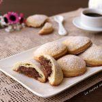 Tortelli dolci panna e cioccolato