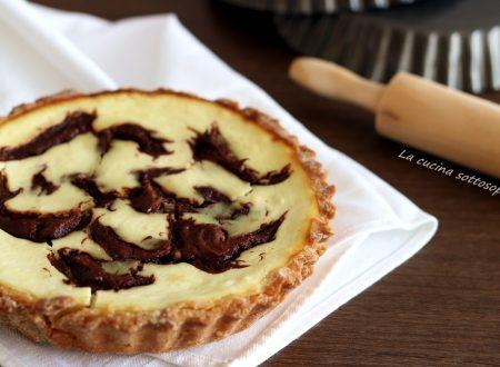 Crostata ricotta e Nutella – ricetta facile