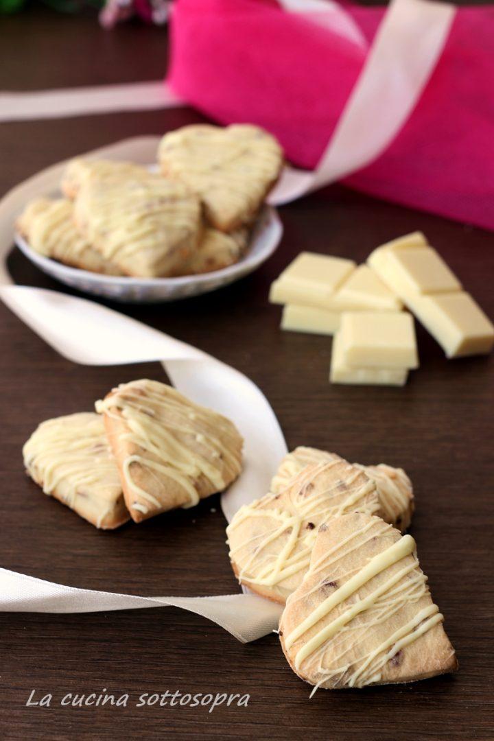 biscotti panna e fragole