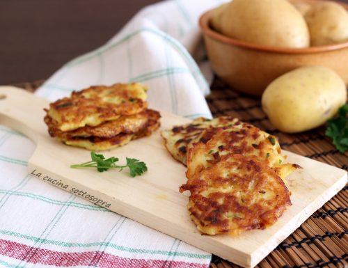 Rosti di patate – contorno gustoso
