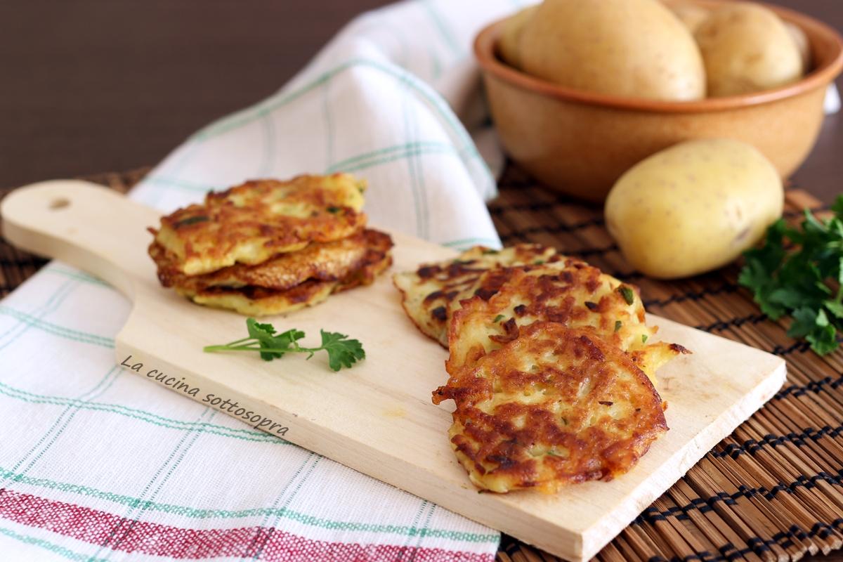 Raccolta di ricette con le patate la cucina sottosopra for Raccolta patate