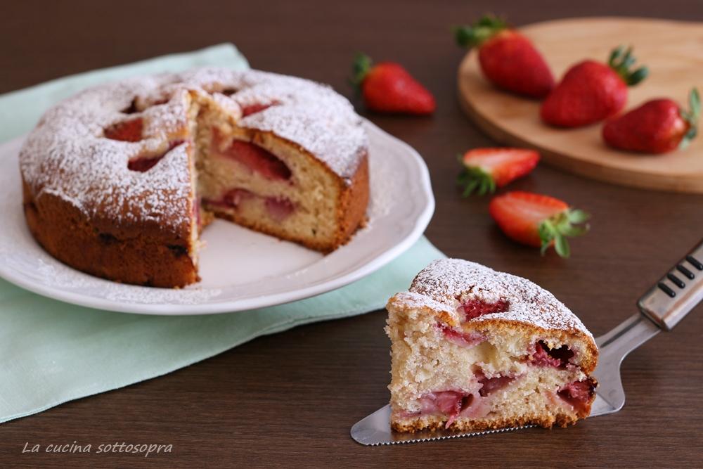 torta fragole e mascarpone ricetta