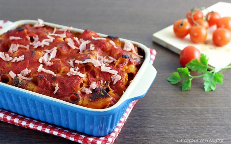 Pasta al forno al prosciutto – ricetta pratica e veloce