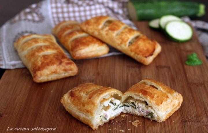 Sfogliatine zucchine e ricotta – ricetta veloce