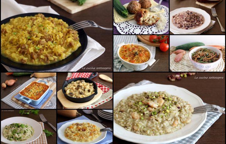 Ricette di riso e risotti – raccolta di ricette