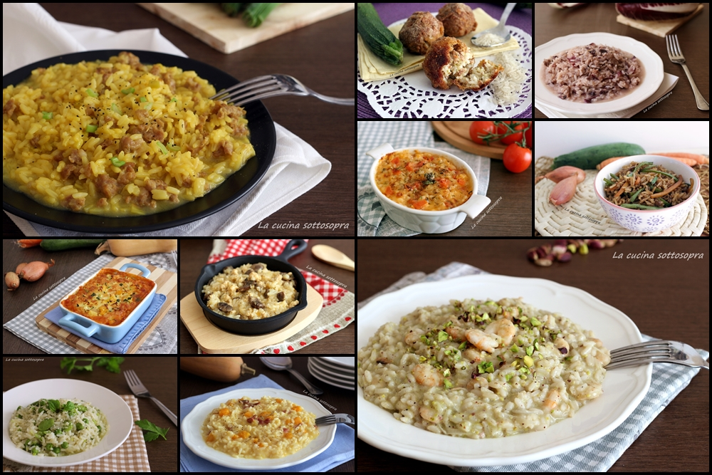 Ricette di riso e risotti raccolta di ricette la for Ricette risotti