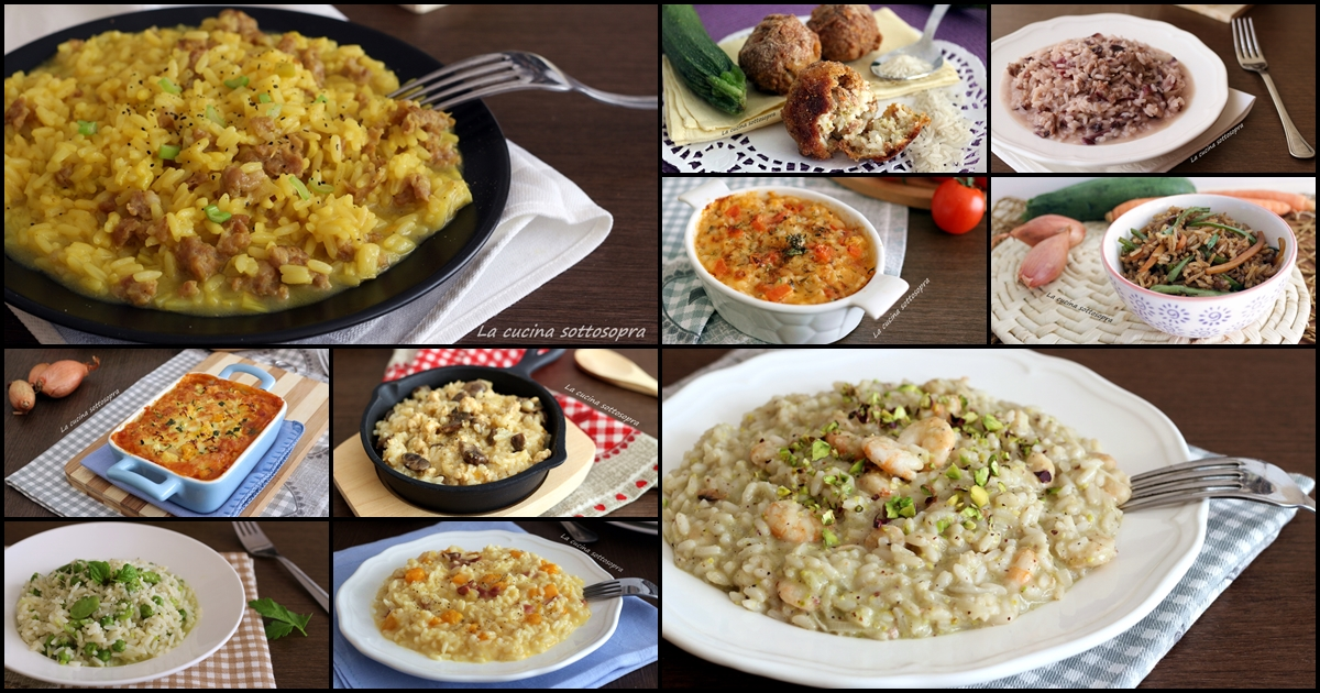 Ricette di risotti facili e veloci raccolta di ricette for Ricette cucina facili