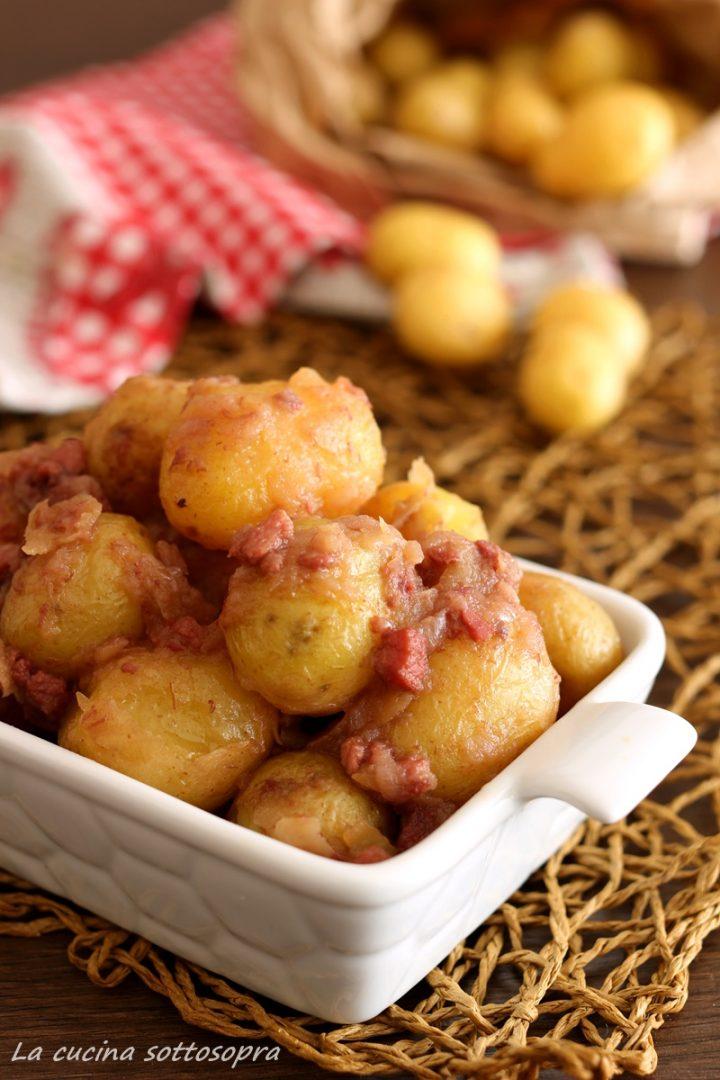 patate ubriache alla pancetta