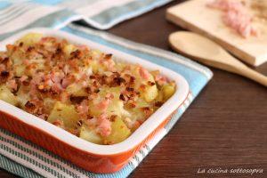 patate rosticciate al prosciutto ricetta