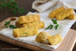 Crocchette di patate e salmone al forno