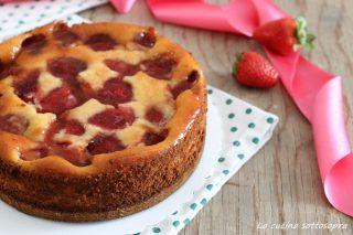cheesecake cotta ricotta e fragole ricetta
