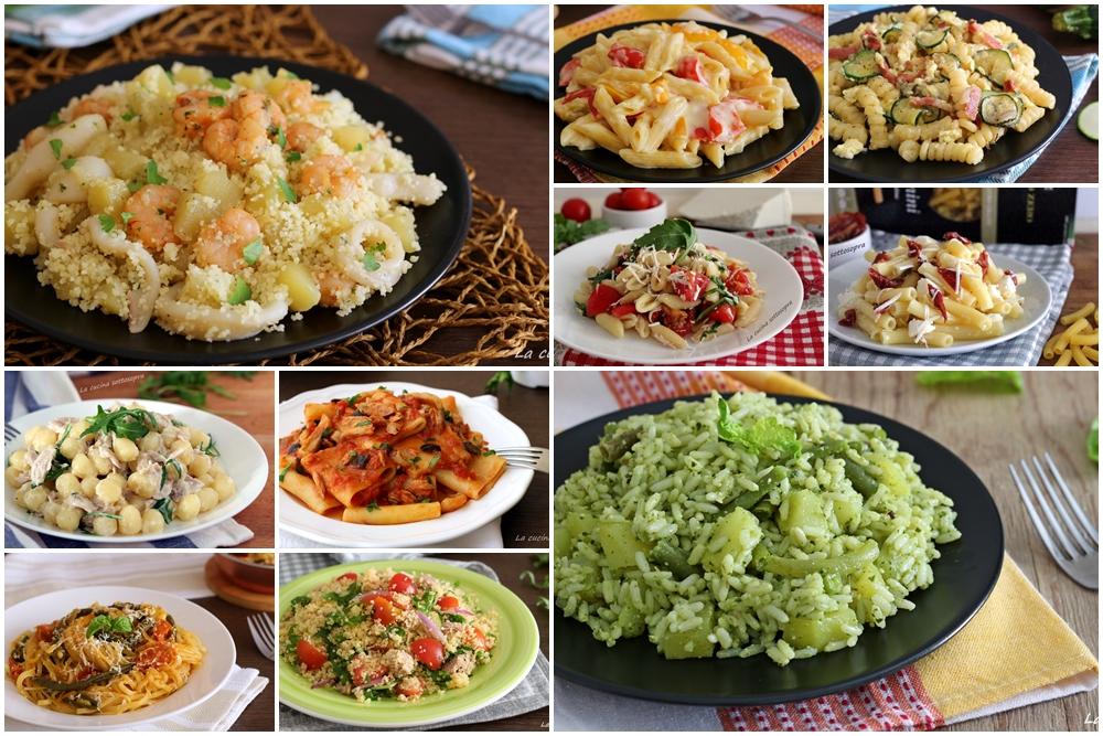 Ricette di primi piatti estivi raccolta di ricette la for Ricette di cucina italiana primi piatti