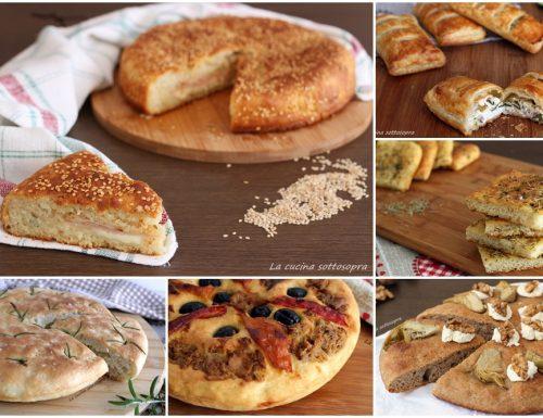 Ricette di focacce e pizze rustiche – Raccolta di ricette