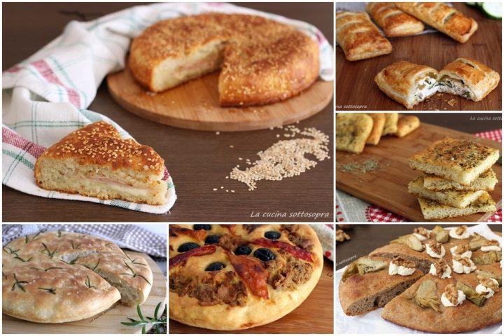 ricette di focacce e pizze rustiche
