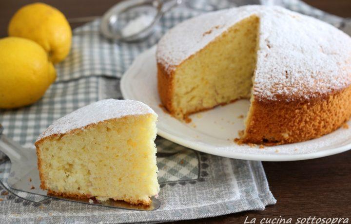 Torta pan di limone – pronta in 5 minuti