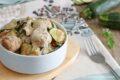 Polpette cremose alle zucchine - con zucchine nell'impasto